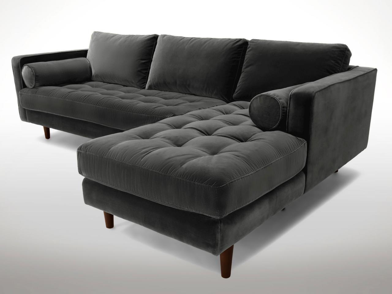 11 On Trend Velvet Sofas To Refresh Your Living Room Small Sofa Bed Black Velvet Sofa Black Sofa