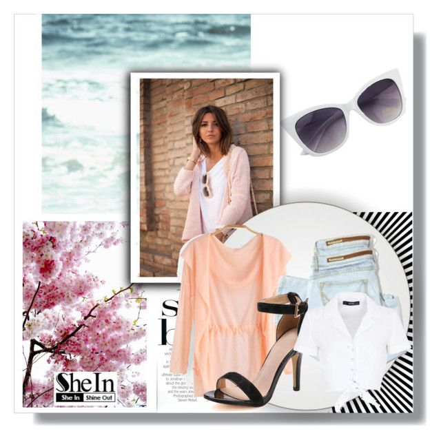 """""""SheIn #5"""" by ljubicica988 ❤ liked on Polyvore featuring Circle Of Trust, Hallhuber and Sheinside"""