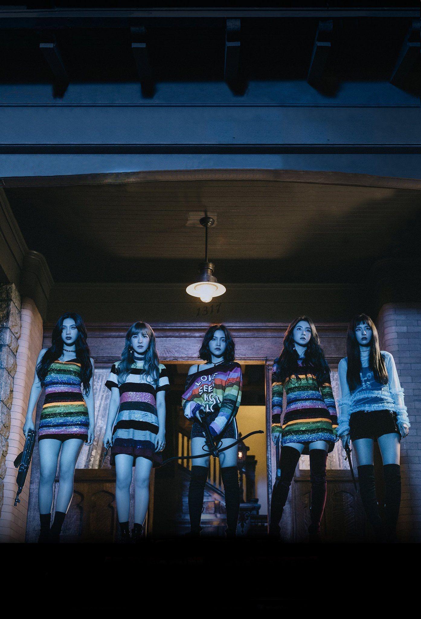 Red Velvet Group Photo Peek A Boo #PerfectVelvet Comeback Concept Photo  High Quality