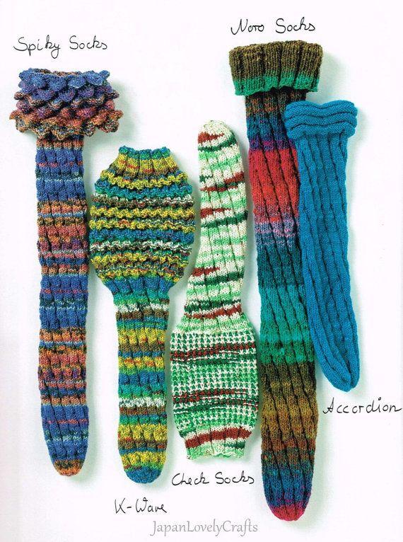Hand Knitted Sock Patterns- Japanese Knitting Pattern Book for Women ...