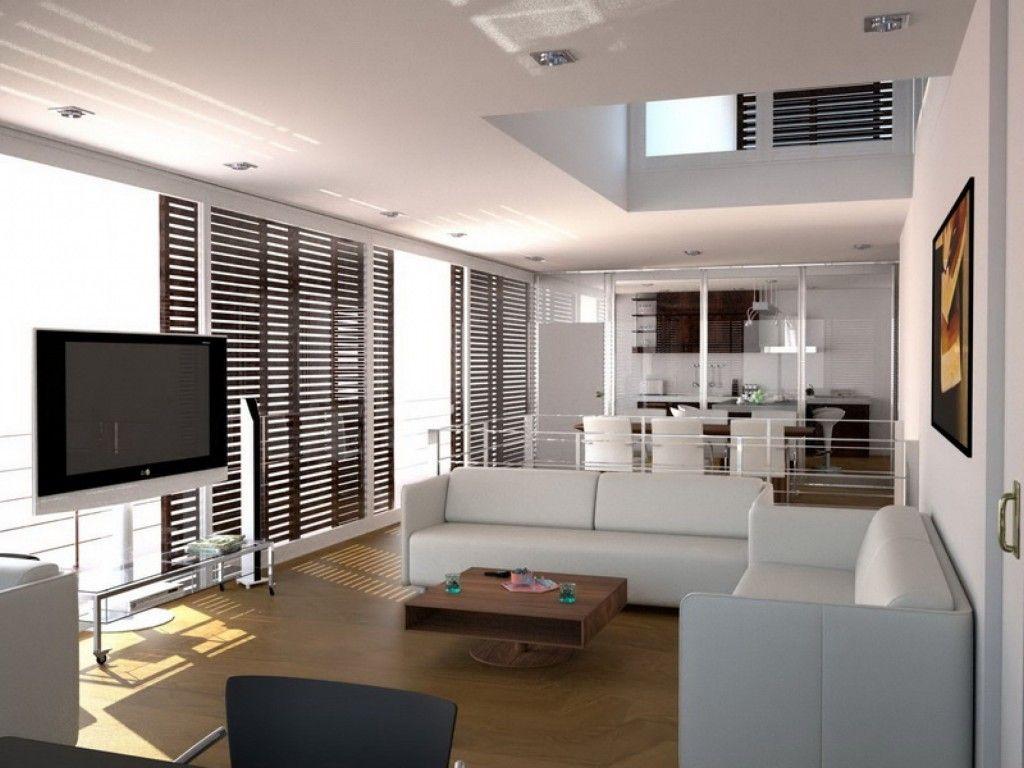 Small Modern Minimalist Studio Apartment Design Ideas Interior