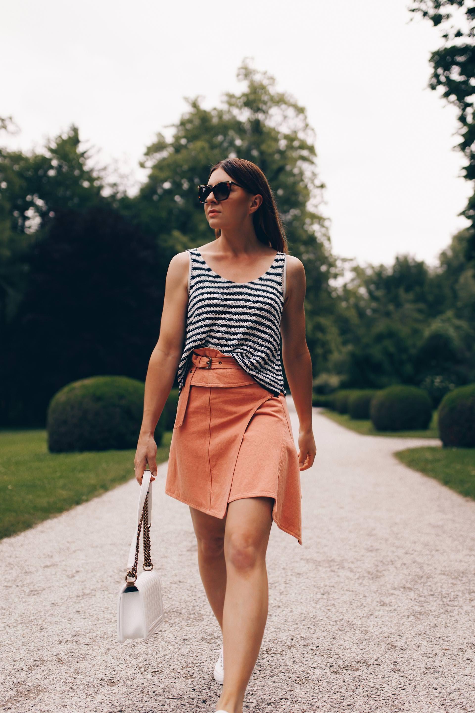 Jeansrock kombinieren: Mein Sommer Outfit mit Rock und