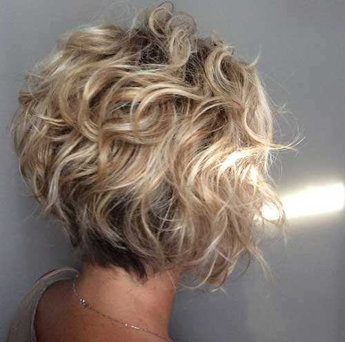 20 New Bob Haircuts For Curly Hair Short Curly Hairstyles Short Curly Bob Hairstyles Short Blonde Curly Hair Curly Hair Styles