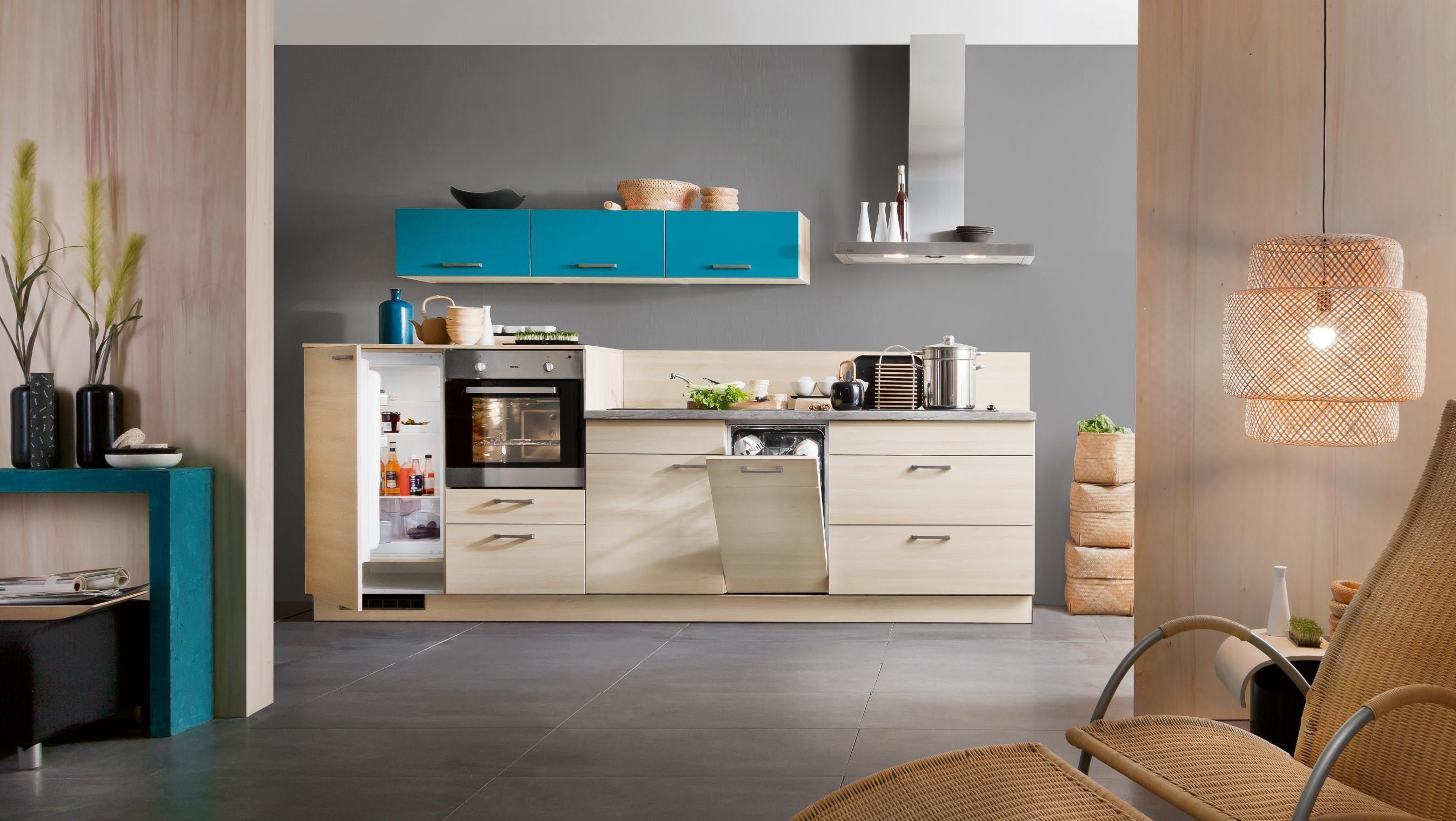 Hochschrank badezimmer ~ Küchen hochschrank offen status offen kleine küche mit