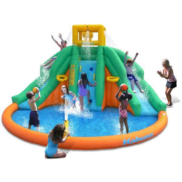 Peak Water Park Inflatable Slide Inflatable Water Slide Kids Water Slide Splash Pool