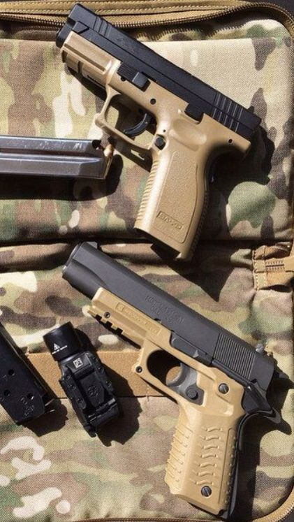Springfield XD and 1911. | Scouts Recon | Pinterest