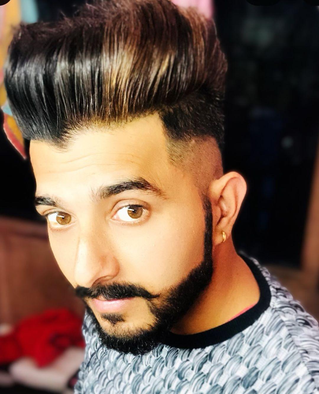 hairstyles #look #beardlook #stud #handsome #mrsammmy