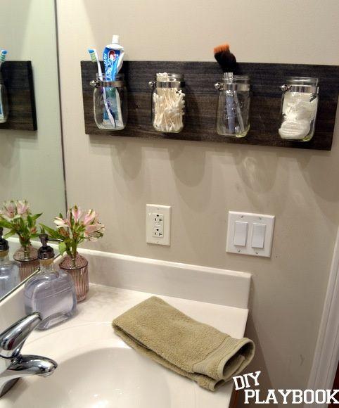 Shower Organizers Jar Bathroom Organizer For The Home