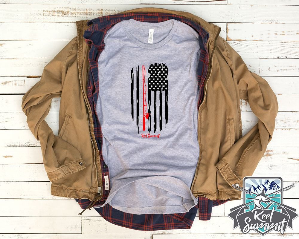 Download Be patriotic with this fishing rod and reel American flag ...