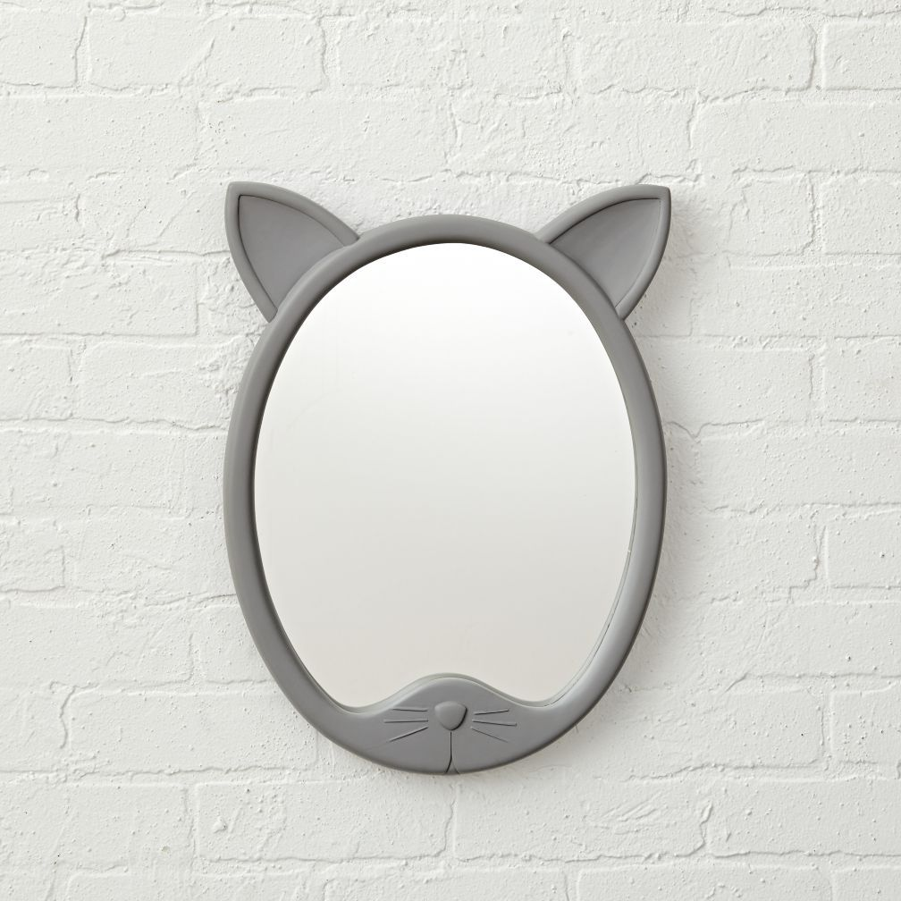 Shop decorative cat shaped mirror this cat shaped wall mirror was shop decorative cat shaped mirror this cat shaped wall mirror was designed for anyone amipublicfo Image collections