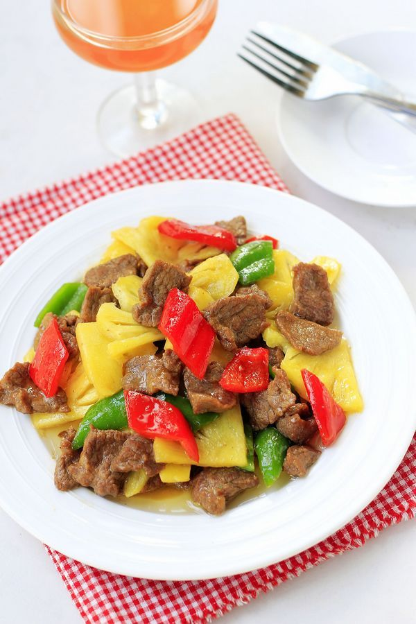 Pineapple beef stir fry xinjiang uyghur cuisine recipe in chinese pineapple beef stir fry xinjiang uyghur cuisine recipe in chinese forumfinder Image collections