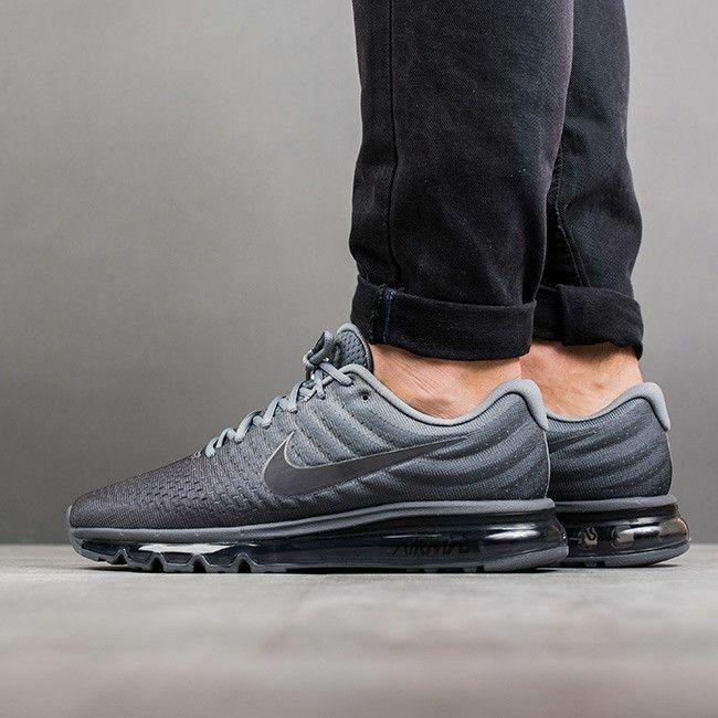 promo code c5b22 84012 Nike Air Max 2017 Cool Grey Anthracite Dark Grey 849559-008 Men's Running  Shoes#Cool#Grey#Anthracite