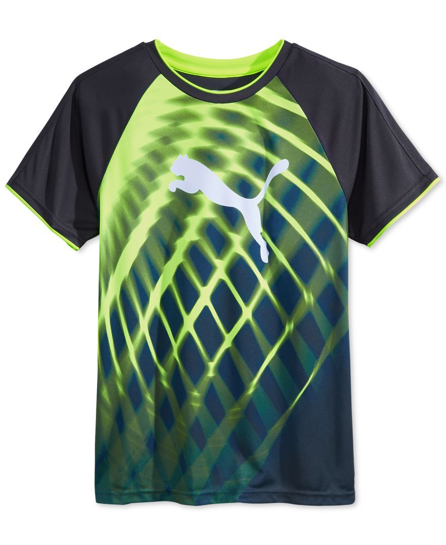 419c9e3a Puma Boys' Sublimation Print T-Shirt | Jonah | Mens tops, Polo tees ...