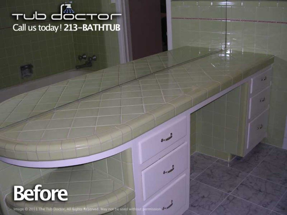 Before After Gallery Refinish Bathtub