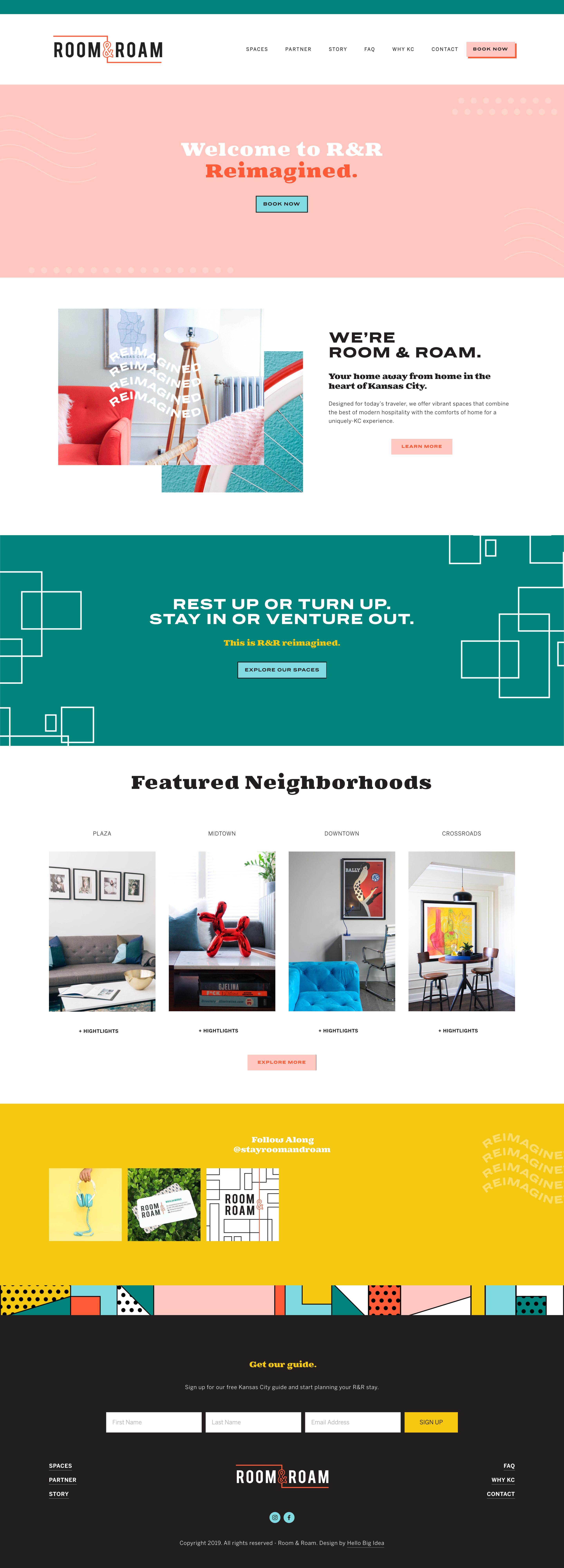 Custom Squarespace Design By Hello Big Idea Squarespace Design Website Design Layout Website Design Trends