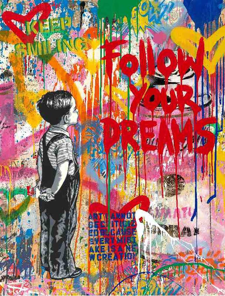 Mr. Brainwash - Dream Big Dreams