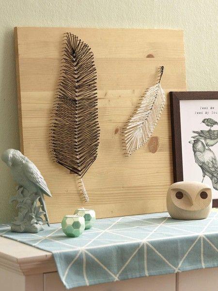 pure leichtigkeit dekoideen mit federn federn wundersch ne bilder und erwachsene. Black Bedroom Furniture Sets. Home Design Ideas