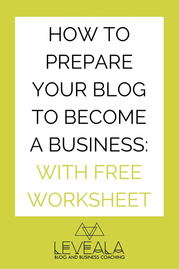 Here is a quick run down of how to prepare your blog to be a business and start making some sales. Click through to find out.