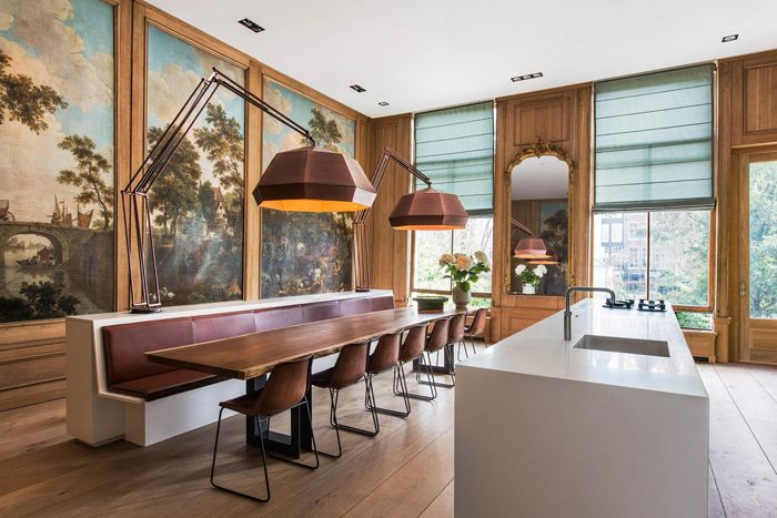 A Historic Amsterdam Home Gets A Makeover