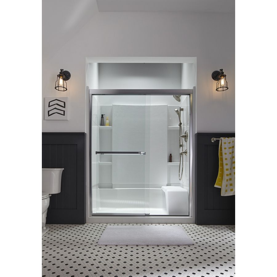 Clear Gl Frameless Sliding Bathroom Shower Doors