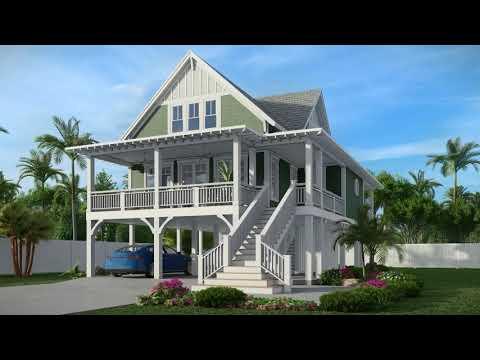 Charming 3 Bedroom Coastal House Plan NC Virtual Tour