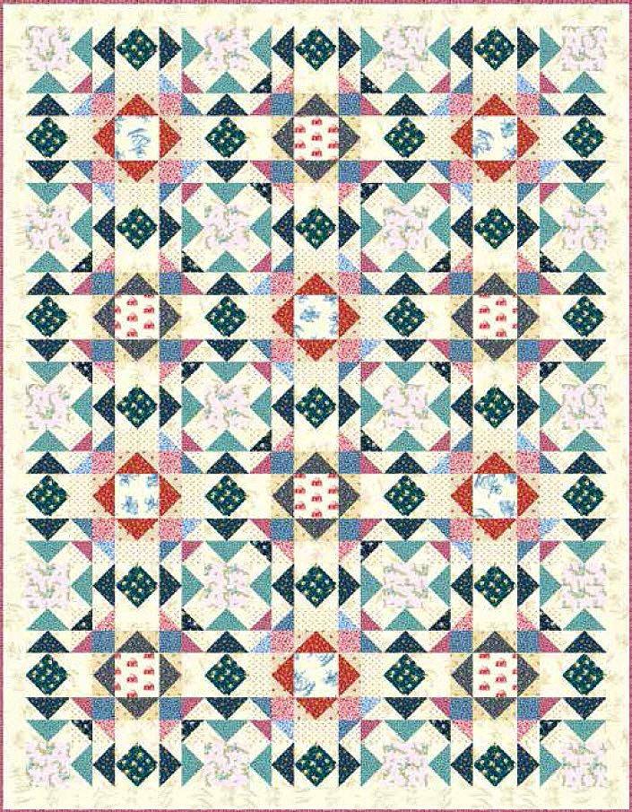 Little House on the Prairie - Laura's Quilt Free Pattern | quilts ... : prairie quilt patterns - Adamdwight.com