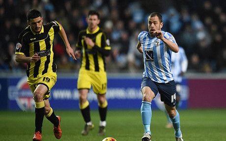"""Joe Cole: """"Jugar en el Coventry City me hace sentir como un niño"""""""