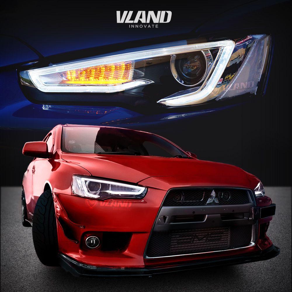 Vland Car Light For Lance Ex 2010 Up Headlamps Vland Mitsubishilancerheadlamps Lancerheadlight Lanc Mitsubishi Cars Mitsubishi Lancer Sports Cars Luxury