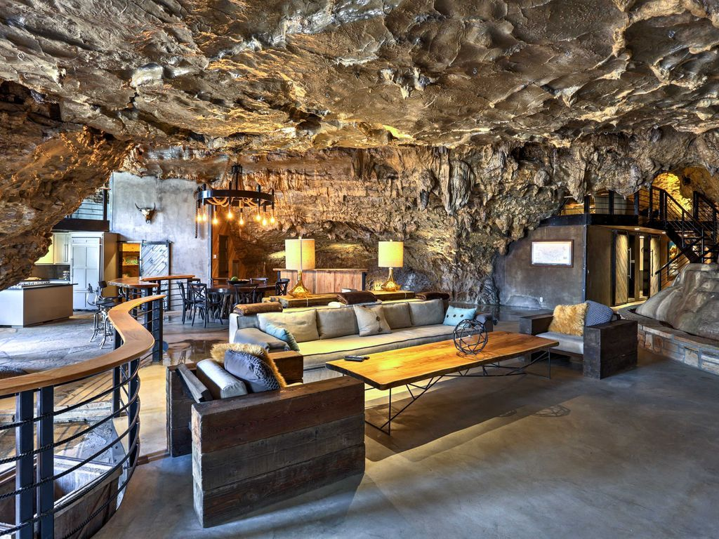 Celebrate Earth Day with these incredible vacation rentals nestled in the Earth itself #cavehouse