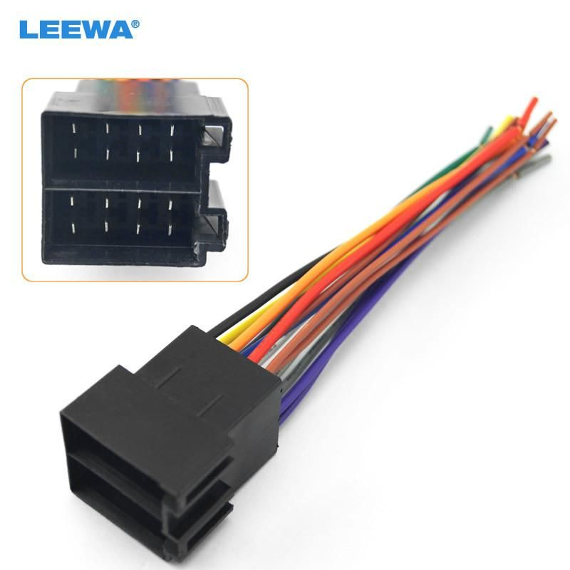73cc1b004659bb0593682f848dd8190f universal female iso radio wire wiring harness adapter connector car