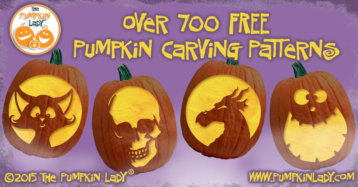Free Pumpkin Carving Patterns And Stencils Pumpkin Templets