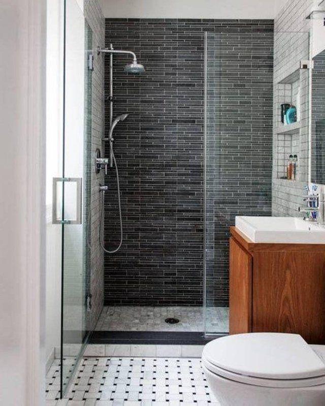 petite salle de bain moderne en 34 exemples inspirants - Salle De Bain Moderne Grise