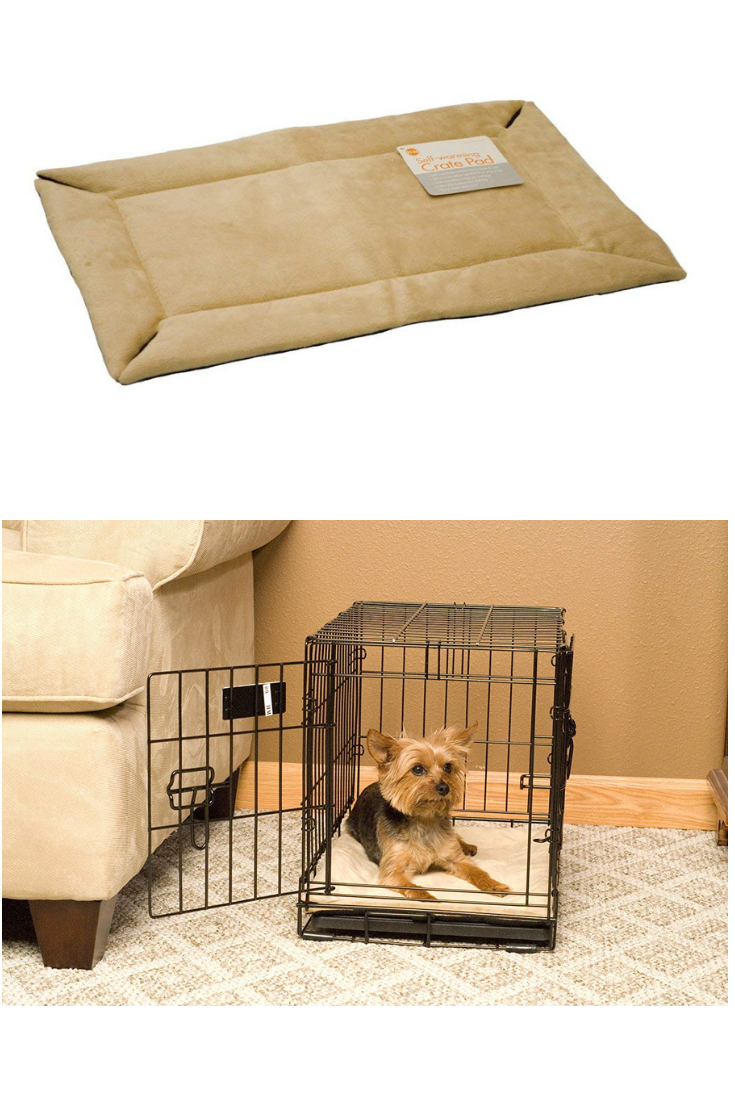 Kh Pet Products Crate Pad For Pets Self Warming Odor Control Or