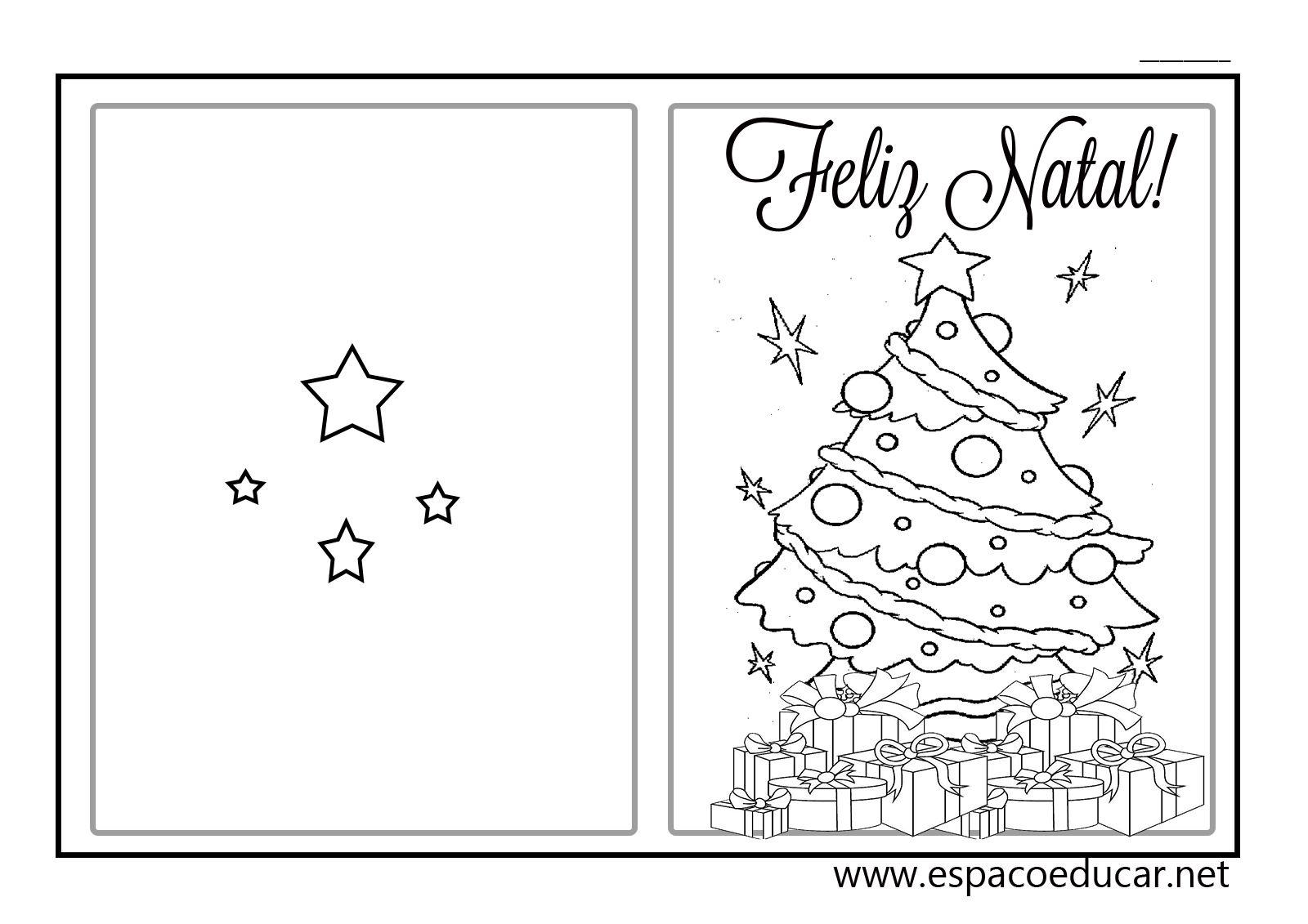 Lindos Modelos De Cartao De Natal Para Voce Imprimir E Presentear