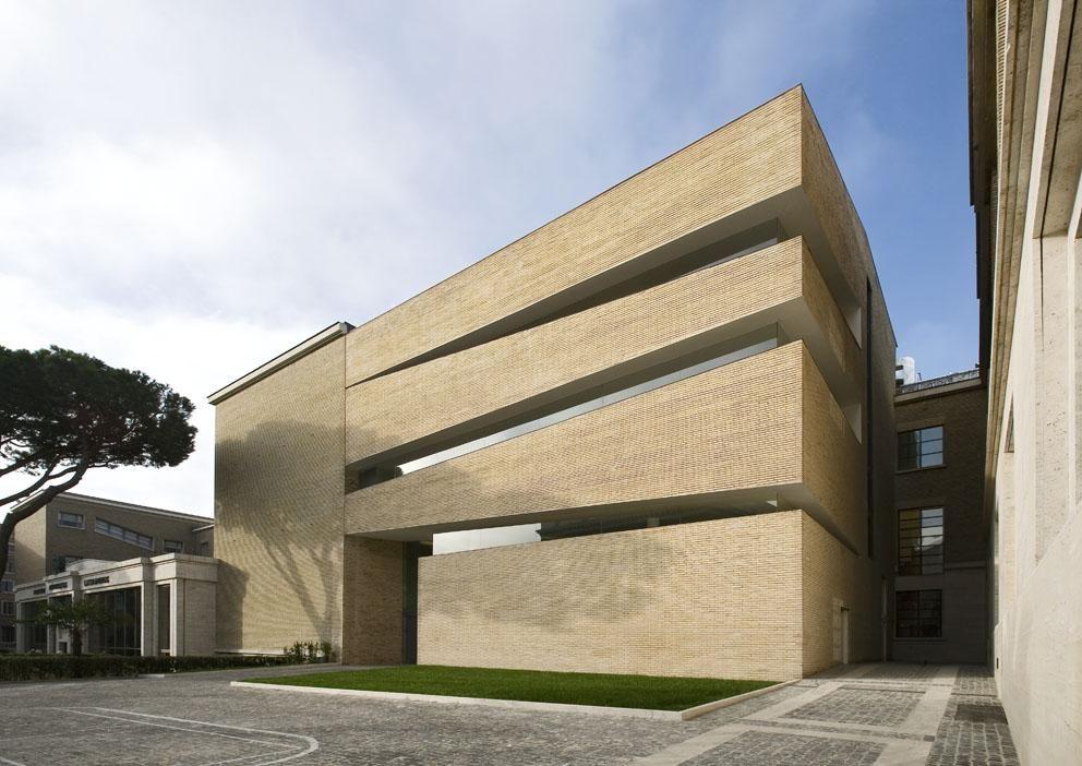 Pius Ix Library Roma King Roseli Architetti Architetti