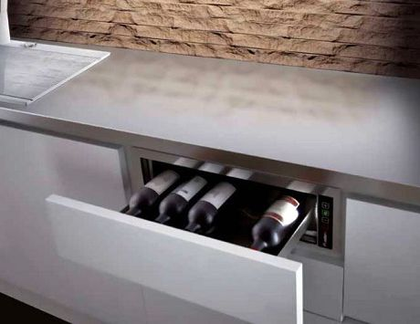 Wine Cooling Pandora Drawer By Plados... Pandora Wine Drawer Is The Clever  Solution For Homeowners With Smaller Kitchens, Condo Dwellers And Those Who  Donu0027t ...