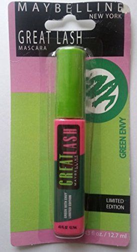 d8bfb920f2c Maybelline Limited Edition Mascara 43 Fl Oz Each Green Envy Color by Great  Lash ** Find out more about the great product at the image link.