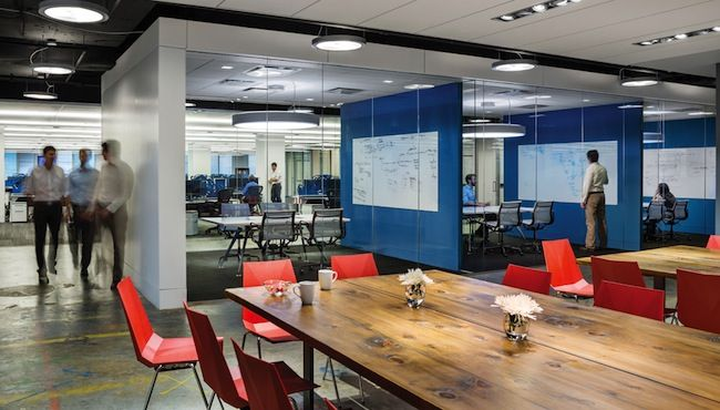 Workplace design trends make way for the millennials building