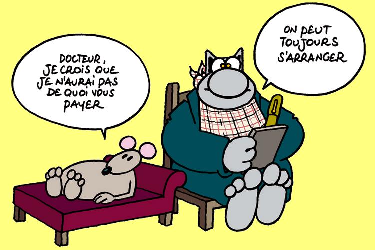 """Résultat de recherche d'images pour """"le chat psychanalyse"""""""