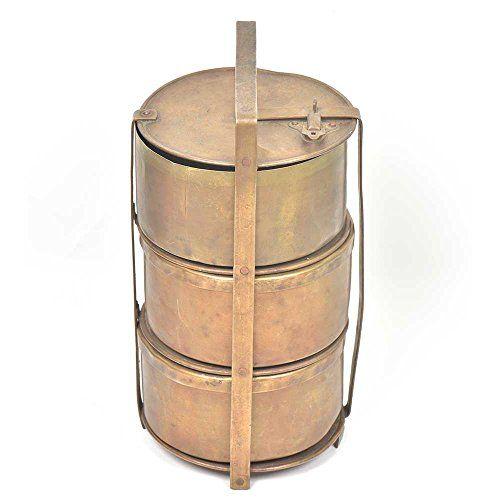 IndianShelf Handmade Vintage Three Tier Brass Tiffin Box ... https://www.amazon.com/dp/B075QD3NLF/ref=cm_sw_r_pi_dp_U_x_G2hmAb7XENPHY