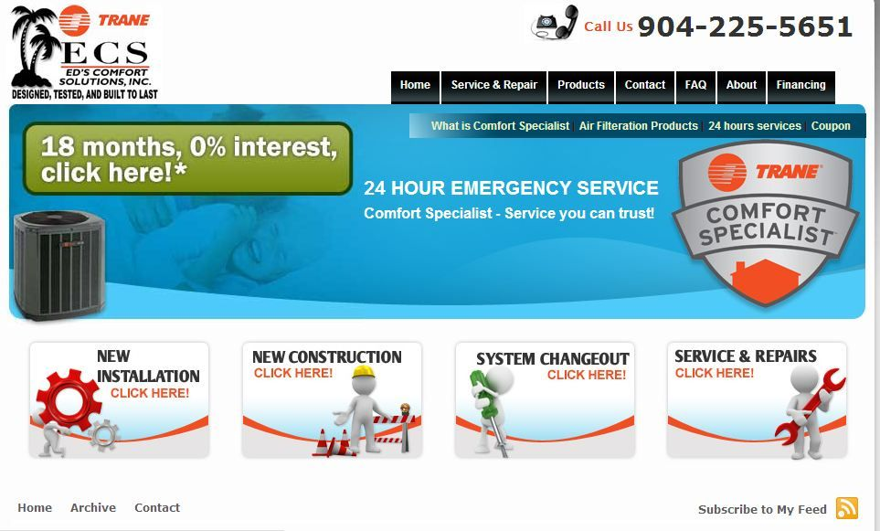 Eds comfort solutions ecs is a superior heating and air