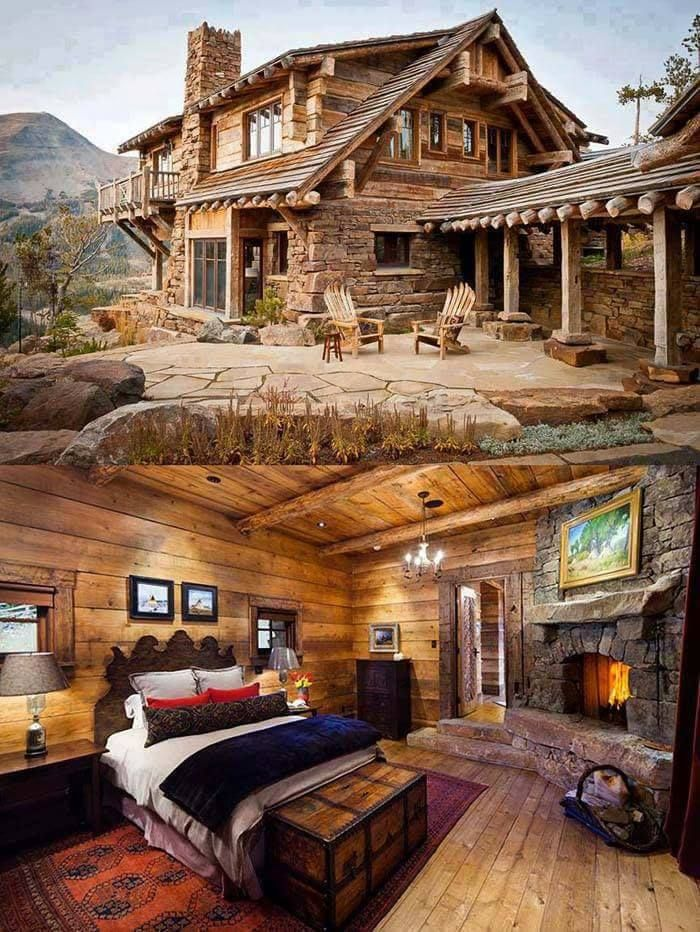 Dekorationsideen also love this for my mountain lodge in spain home ideas rh pinterest
