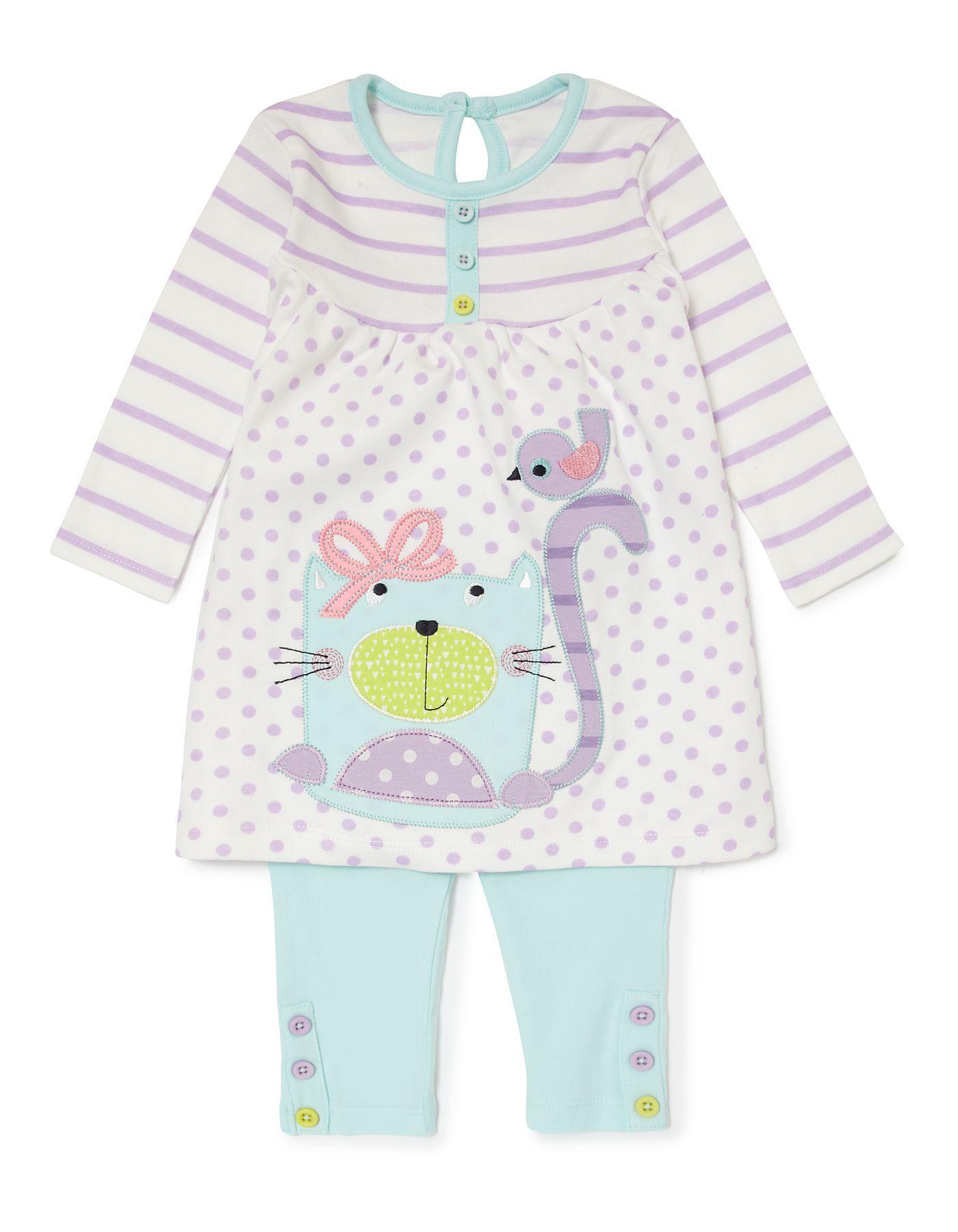 2 Piece Jersey Baby Set Girl Cloths Pinterest