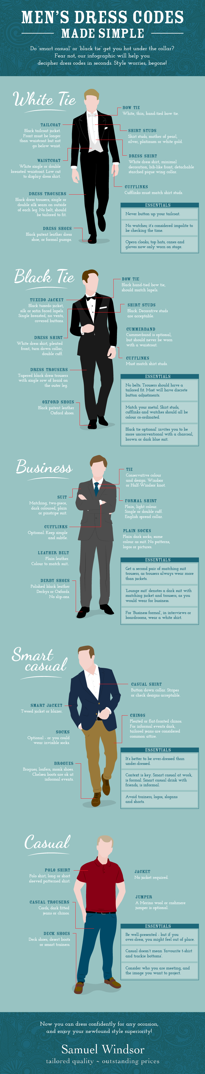Dress code business style