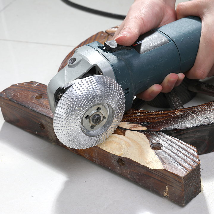 Wood Grinding Wheel Sanding Carving Rotary Abrasive Disc For Angle Grinder Tool