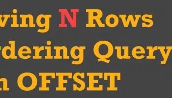 How to Skip Top N Rows in SQL Server? - Interview Question of the Week #237  - SQL Authority with Pinal Dave | Sql server, Sql, Author