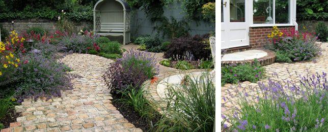courtyard garden design by karen chamberlain - Courtyard Garden Ideas Uk