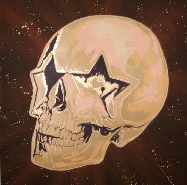 Star Skull (One) by Ron English (2011)