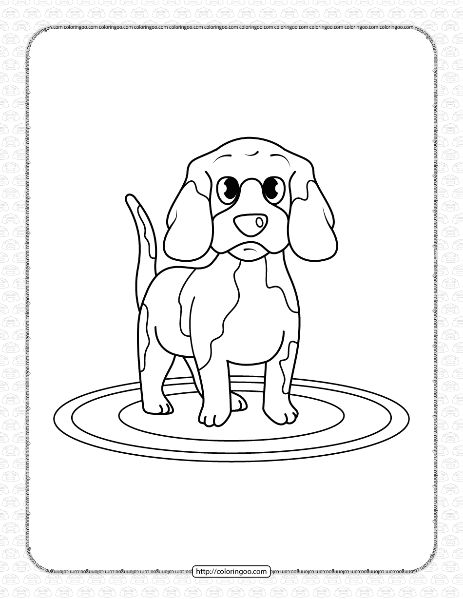 Printable Dog Coloring Page For Boys In 2021 Puppy Coloring Pages Dog Coloring Page Coloring Pages For Kids [ 1229 x 950 Pixel ]