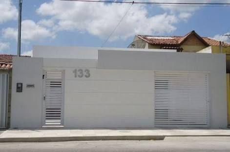 fotos de muros para frentes de casas Resultado De Imagem Para Fachada De Casas Fachadas